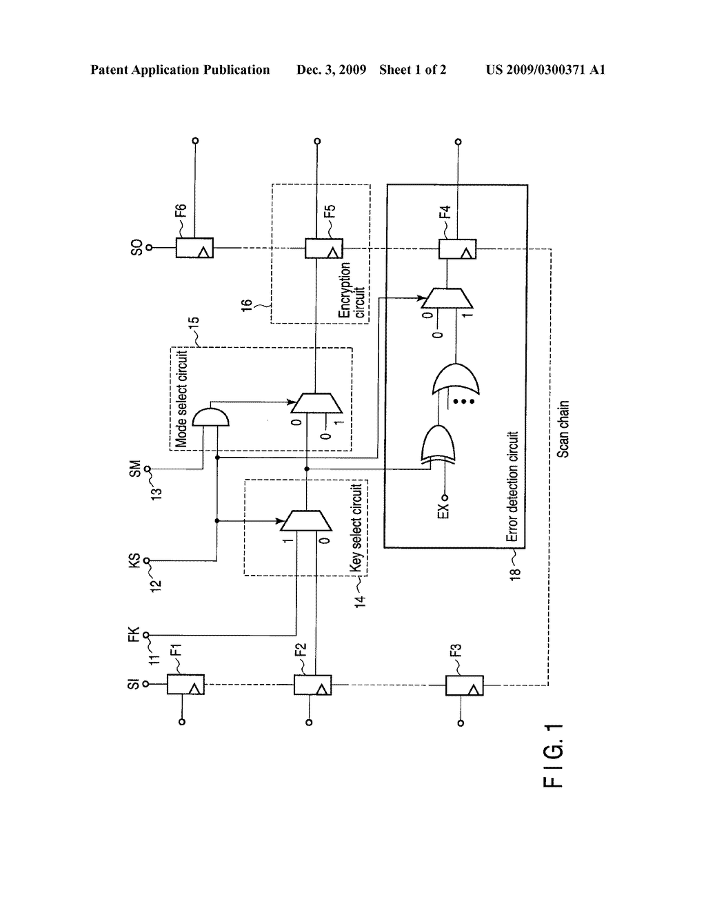 SEMICONDUCTOR INTEGRATED DEVICE AND METHOD OF TESTING SEMICONDUCTOR INTEGRATED DEVICE - diagram, schematic, and image 02