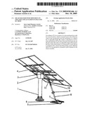 SOLAR TRACKER WITH MOVEMENT IN TWO AXES AND ACTUATION IN ONLY ONE OF THEM diagram and image