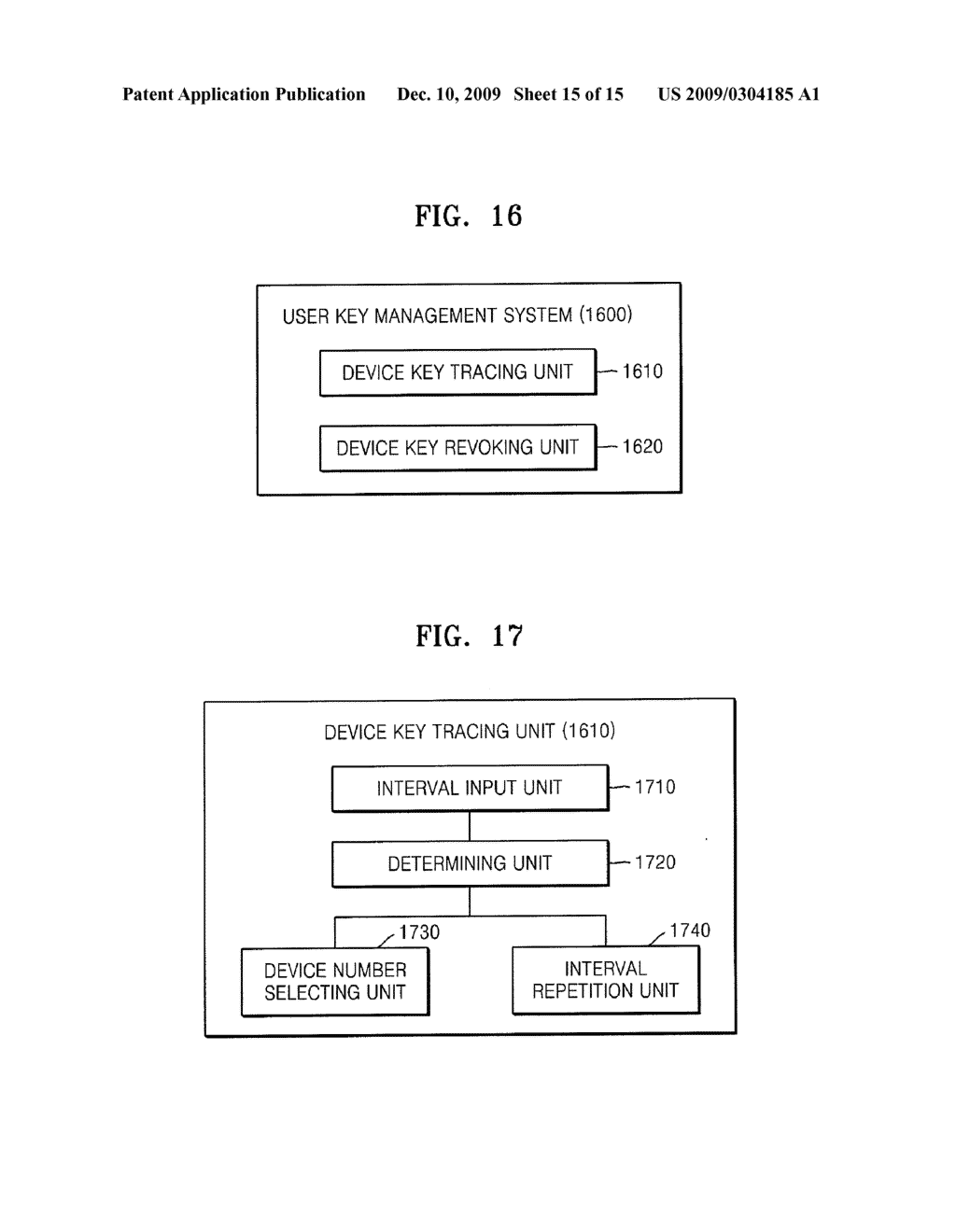 METHOD OF TRACING DEVICE KEYS FOR BROADCAST ENCRYPTION - diagram, schematic, and image 16