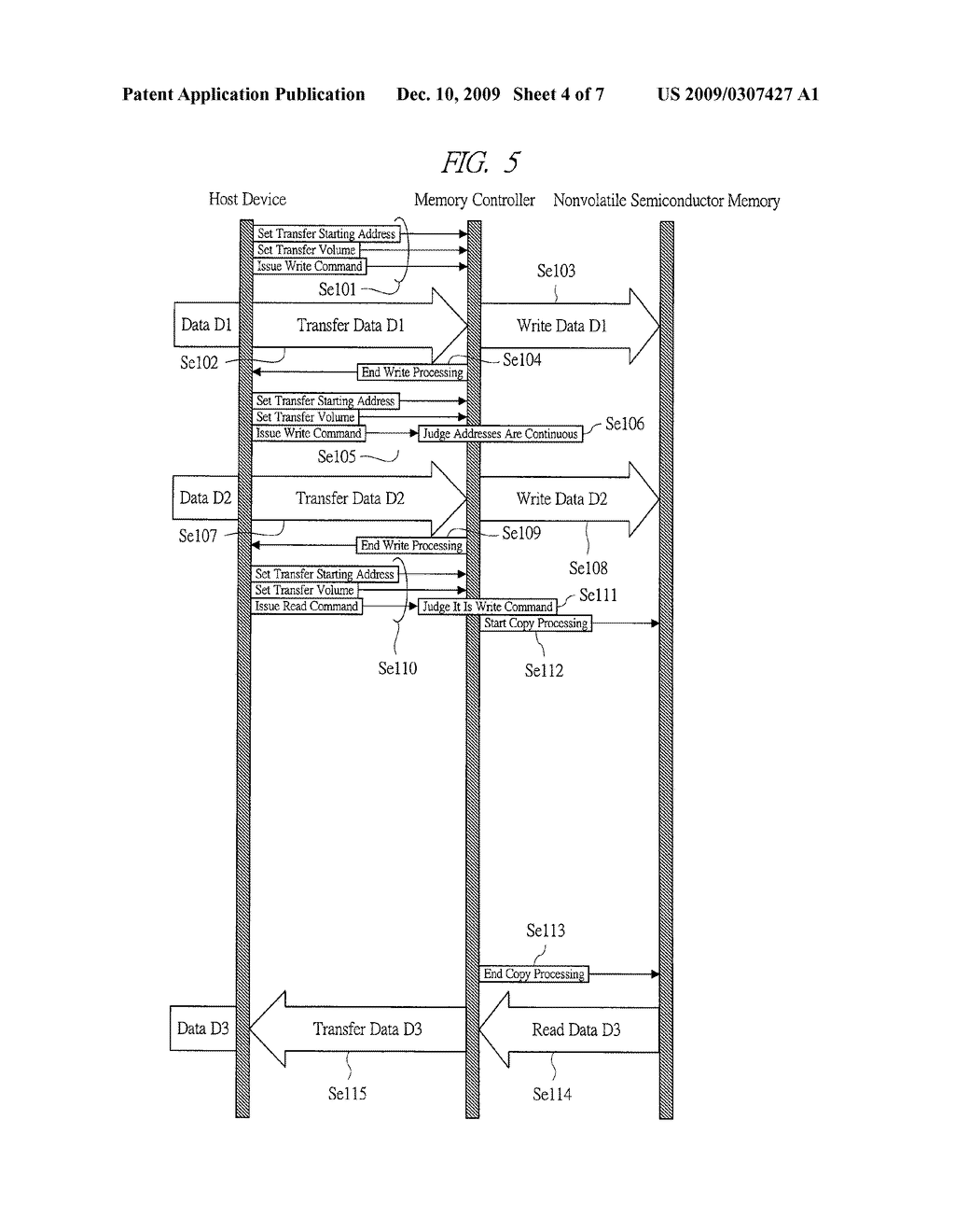 MEMORY CARD AND METHOD OF WRITING DATA - diagram, schematic, and image 05