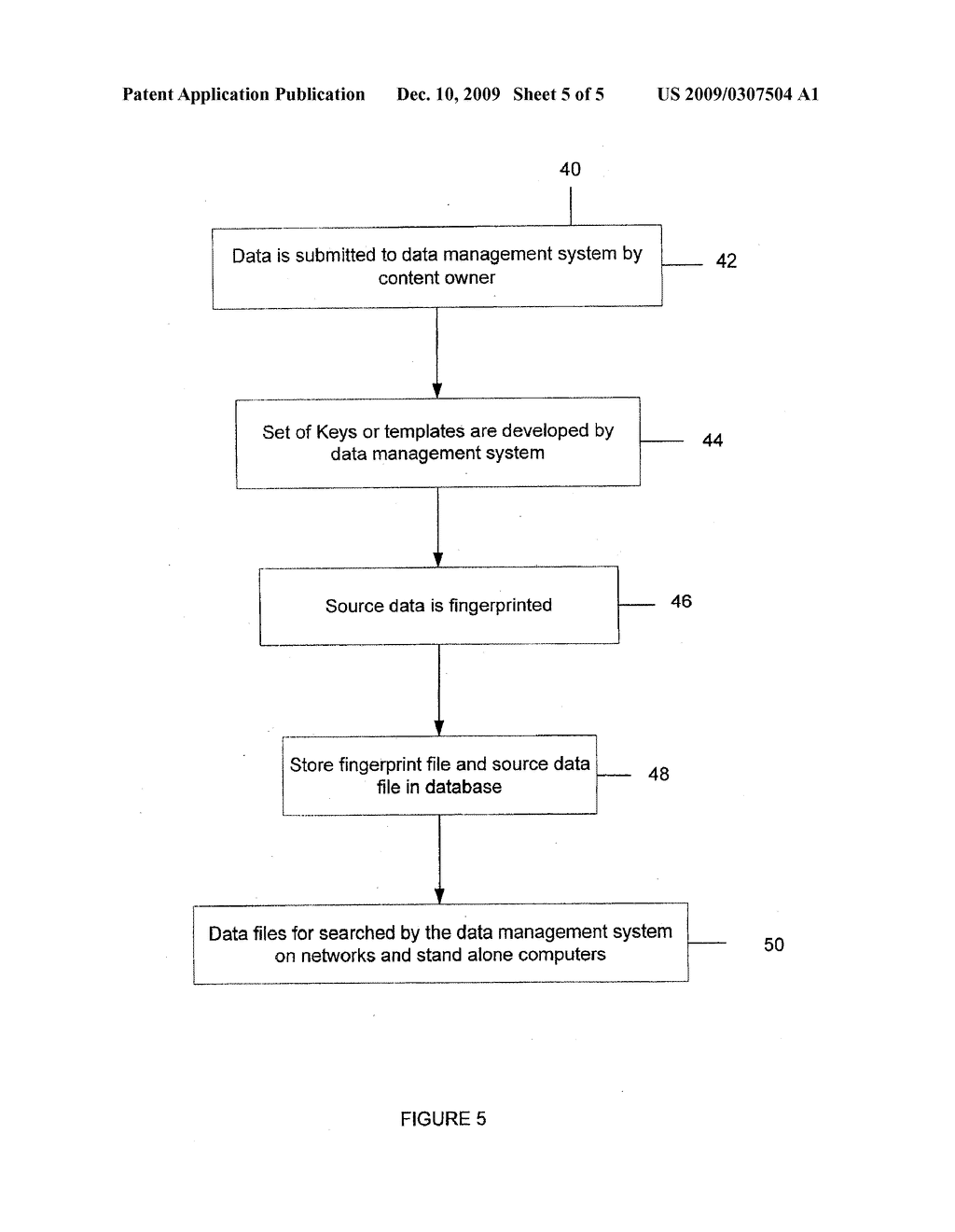 Method, Apparatus, and System for Managing, Reviewing, Comparing and Detecting Data on a Wide Area Network - diagram, schematic, and image 06