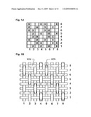 Structured fabric for papermaking and method diagram and image