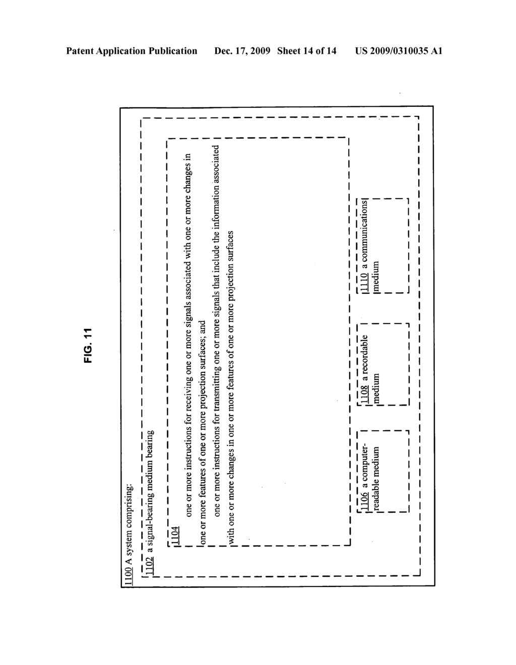 Methods and systems for receiving and transmitting signals associated with projection - diagram, schematic, and image 15