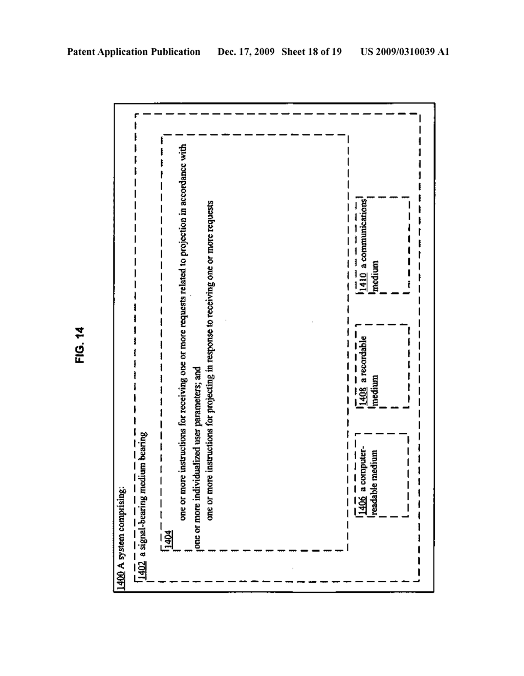 Methods and systems for user parameter responsive projection - diagram, schematic, and image 19
