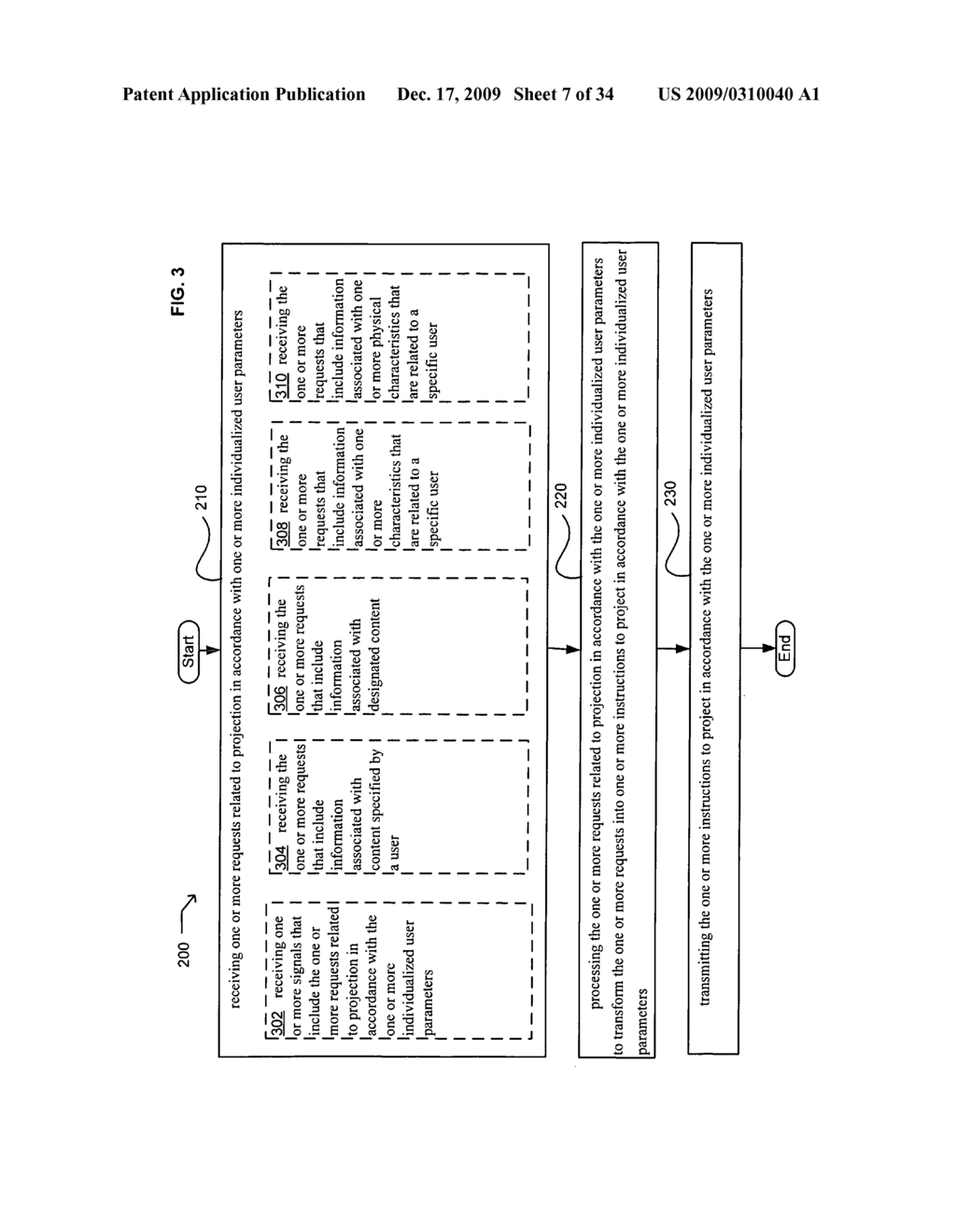Methods and systems for receiving instructions associated with user parameter responsive projection - diagram, schematic, and image 09