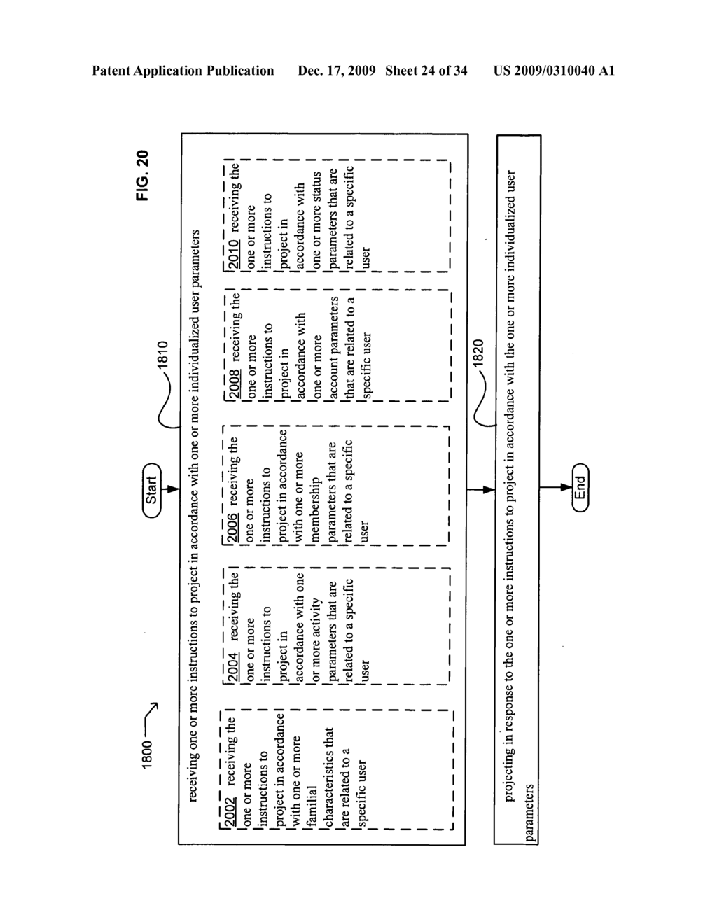 Methods and systems for receiving instructions associated with user parameter responsive projection - diagram, schematic, and image 26