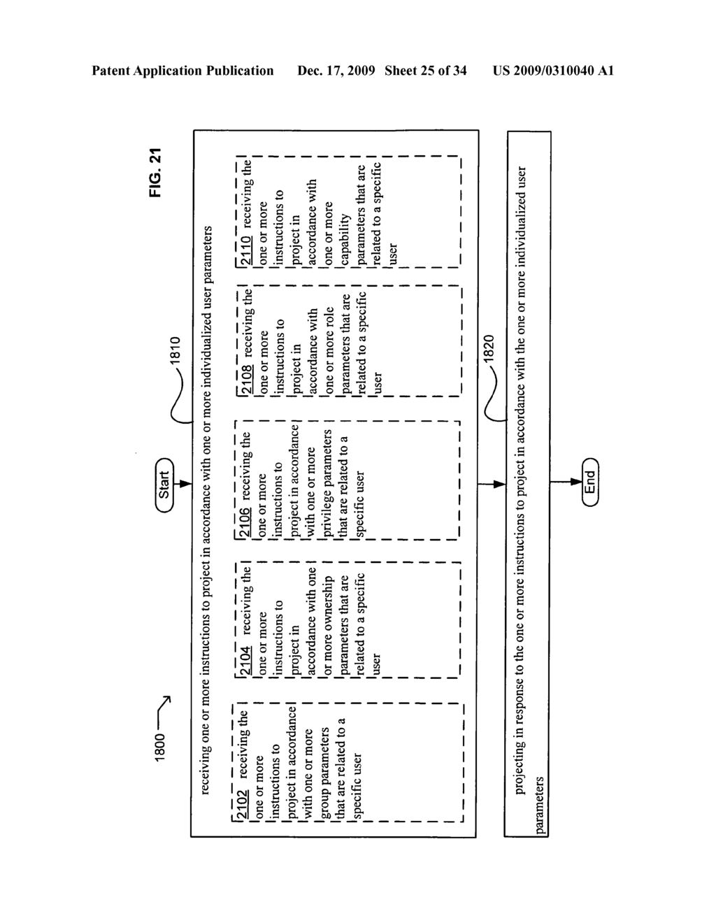 Methods and systems for receiving instructions associated with user parameter responsive projection - diagram, schematic, and image 27