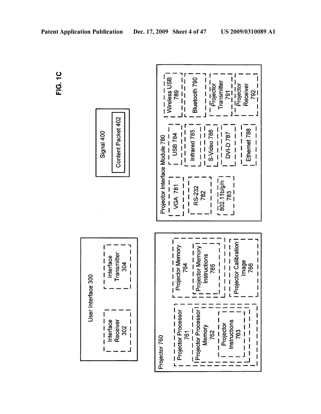Systems and methods for receiving information associated with projecting - diagram, schematic, and image 05