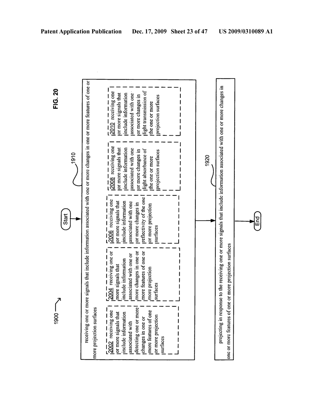 Systems and methods for receiving information associated with projecting - diagram, schematic, and image 24