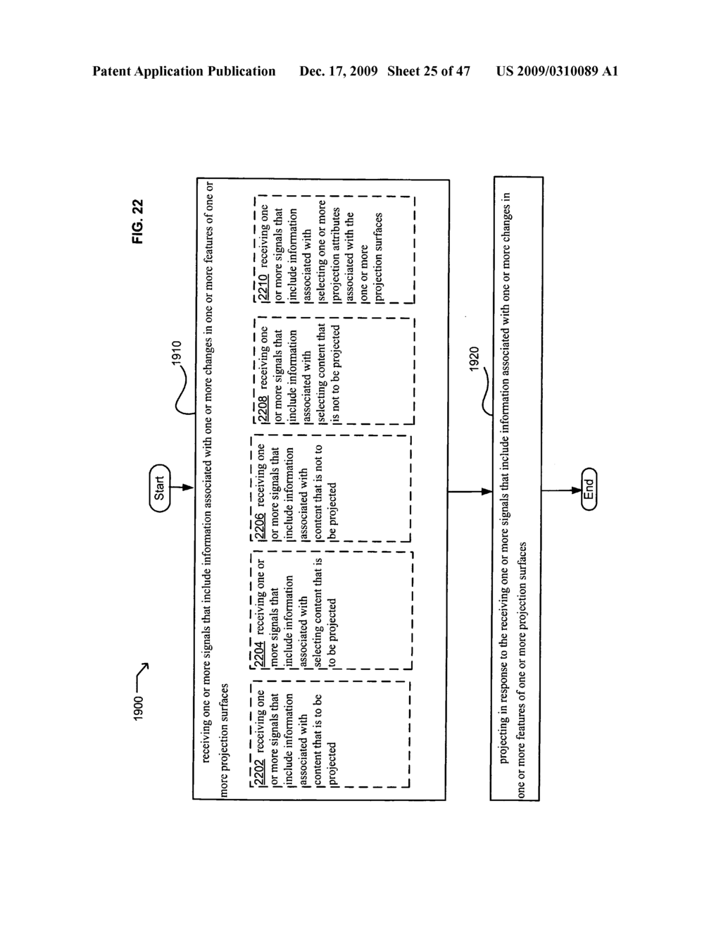 Systems and methods for receiving information associated with projecting - diagram, schematic, and image 26