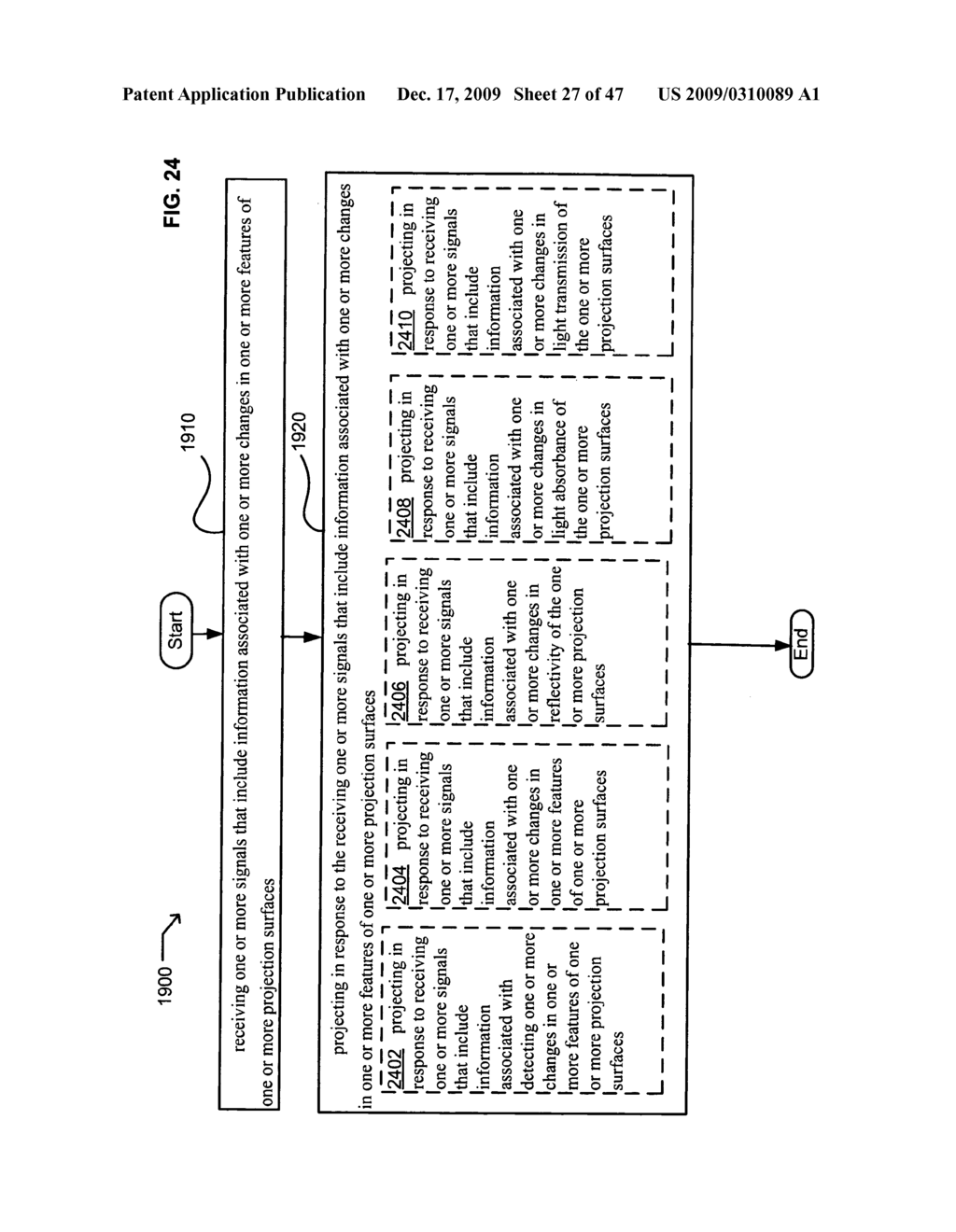 Systems and methods for receiving information associated with projecting - diagram, schematic, and image 28