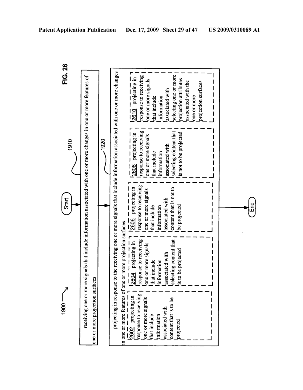 Systems and methods for receiving information associated with projecting - diagram, schematic, and image 30