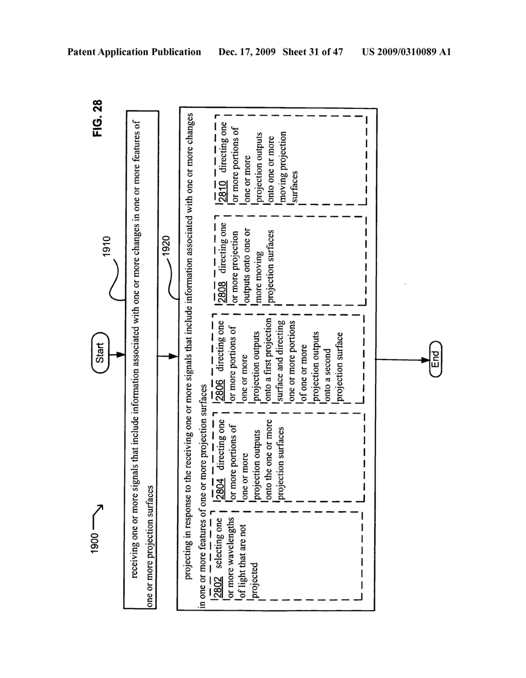 Systems and methods for receiving information associated with projecting - diagram, schematic, and image 32
