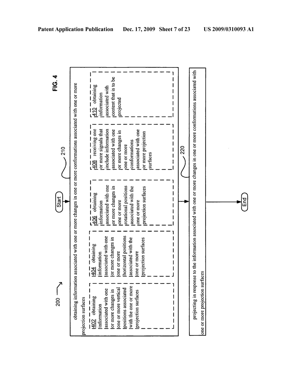 Systems and methods for projecting in response to conformation - diagram, schematic, and image 08