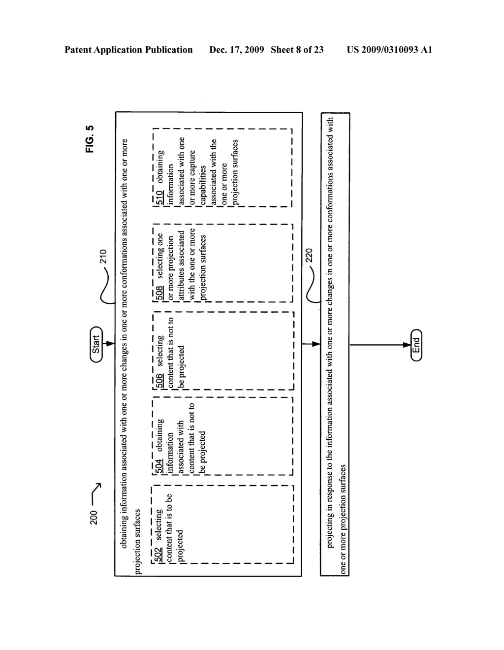 Systems and methods for projecting in response to conformation - diagram, schematic, and image 09