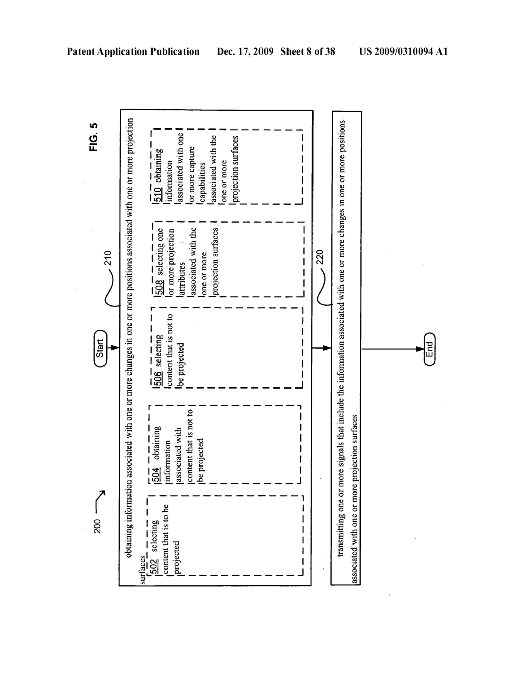 Systems and methods for projecting in response to position - diagram, schematic, and image 09