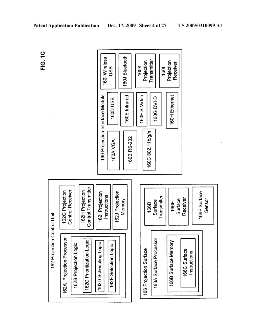 Methods associated with receiving and transmitting information related to projection - diagram, schematic, and image 05