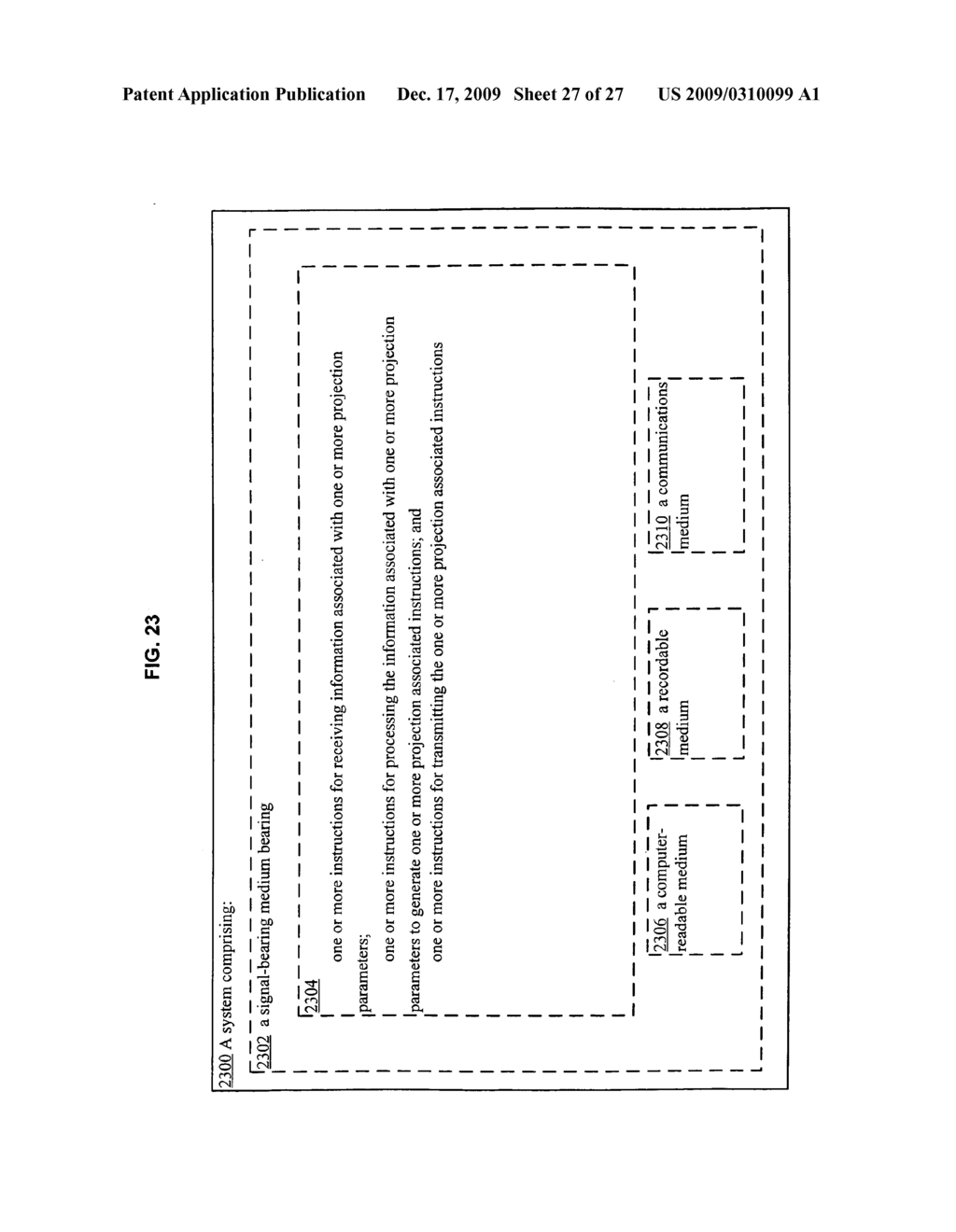 Methods associated with receiving and transmitting information related to projection - diagram, schematic, and image 28