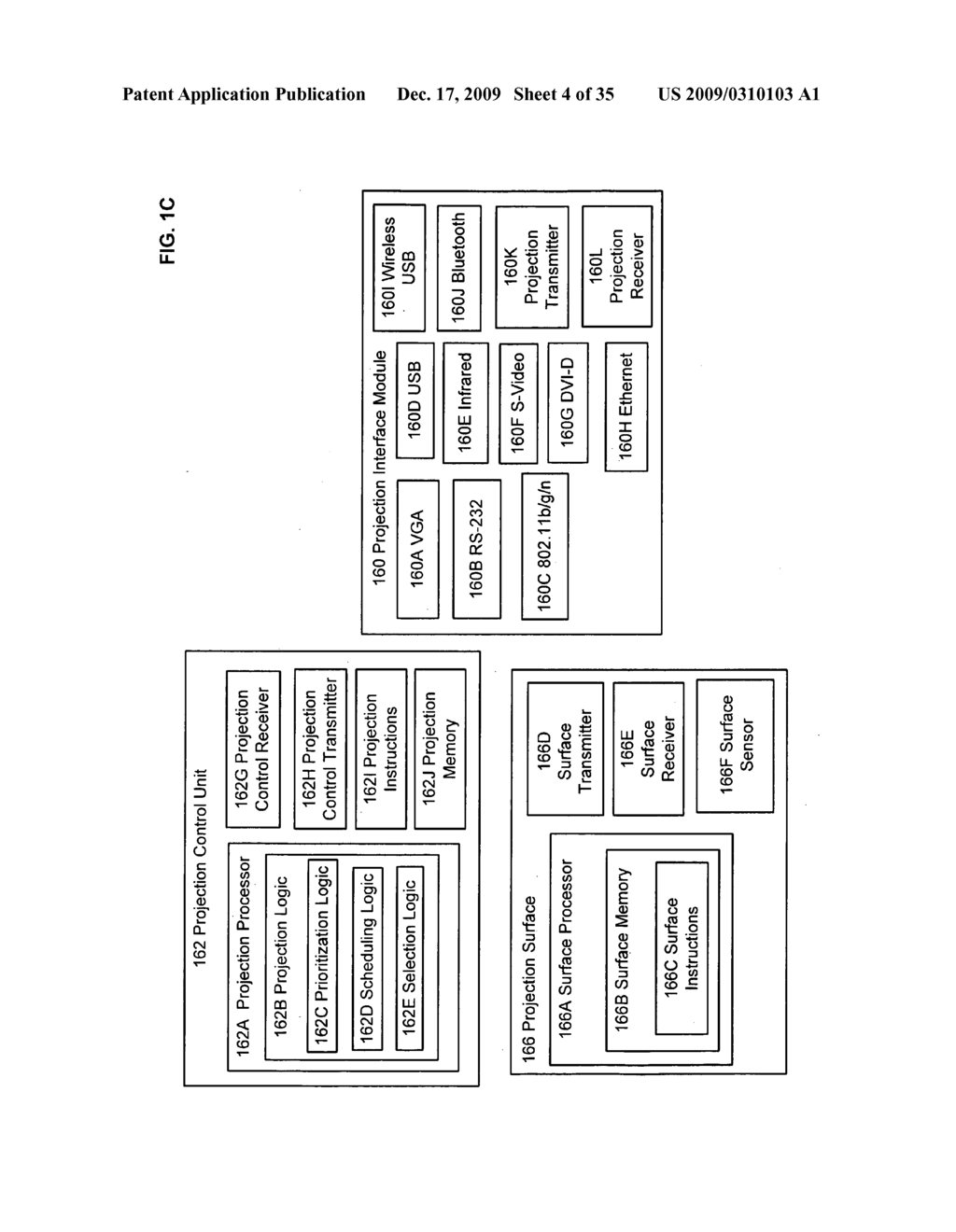 Methods and systems for receiving information associated with the coordinated use of two or more user responsive projectors - diagram, schematic, and image 05