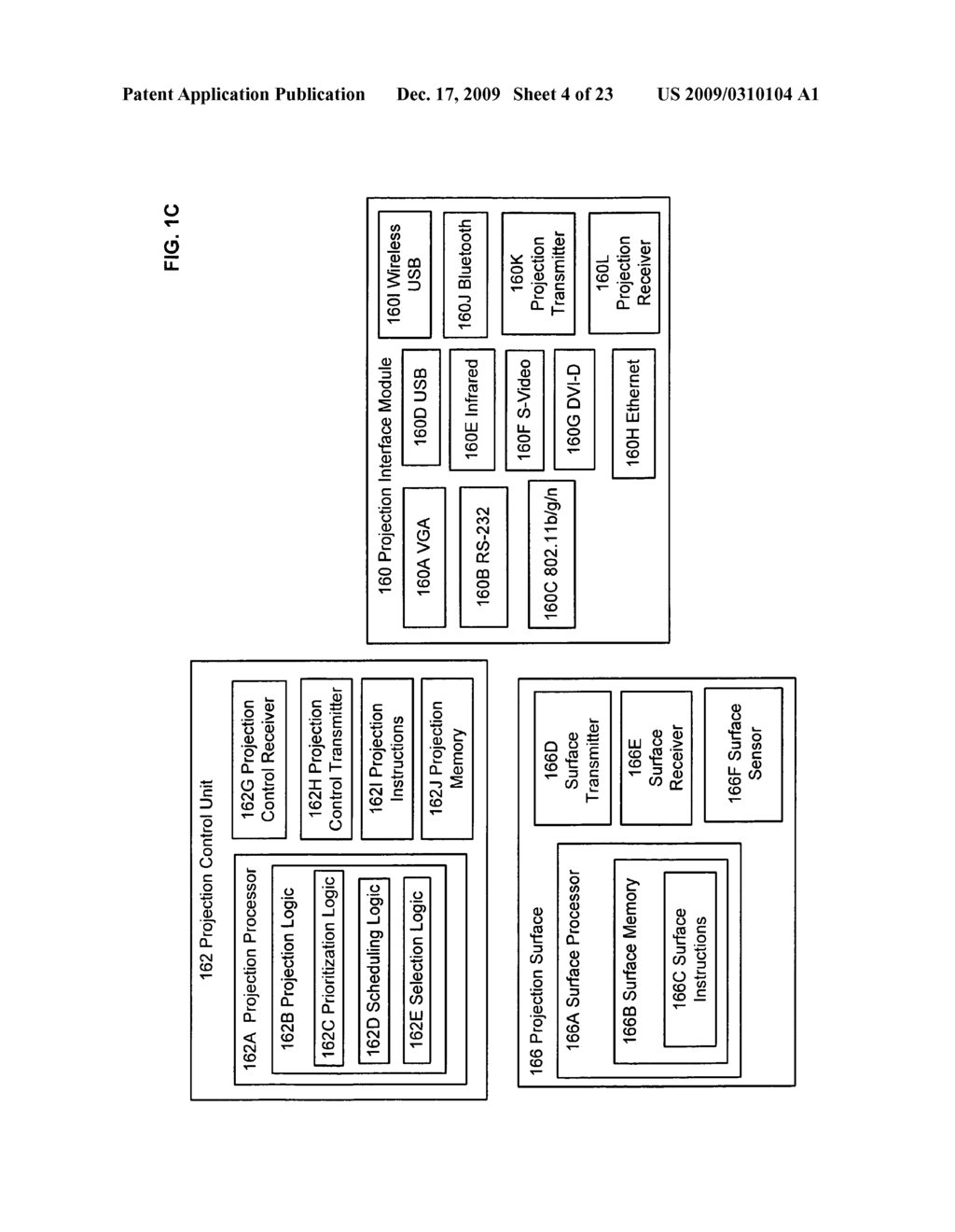 Methods and systems for coordinated use of two or more user responsive projectors - diagram, schematic, and image 05