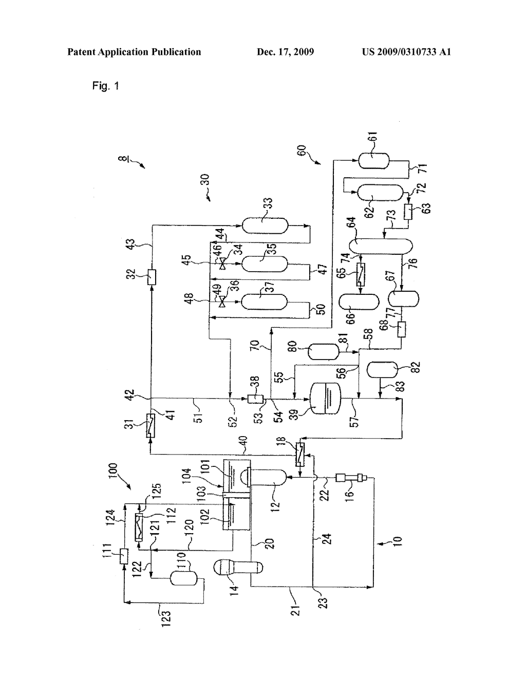 DEMINERALIZER OF PRIMARY COOLANT SYSTEM IN PRESSURIZED-WATER REACTOR POWER PLANT AND METHOD FOR PURIFYING PRIMARY COOLING WATER IN PRESSURIZED-WATER REACTOR POWER PLANT - diagram, schematic, and image 02
