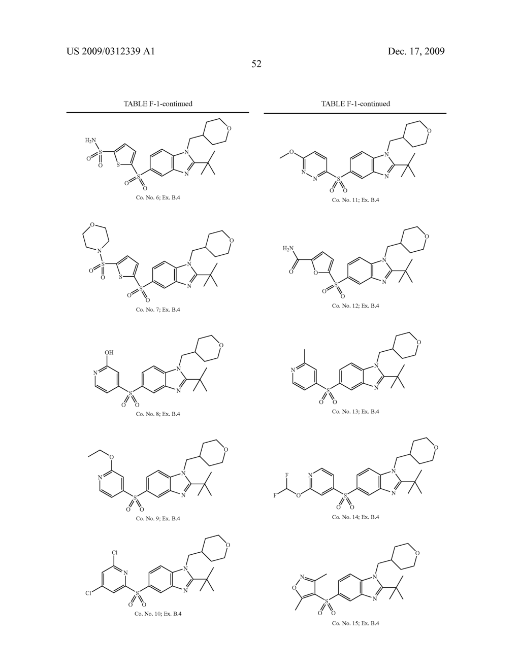 BENZIMIDAZOLE CANNABINOID AGONISTS BEARING A SUBSTITUTED HETEROCYCLIC GROUP - diagram, schematic, and image 53