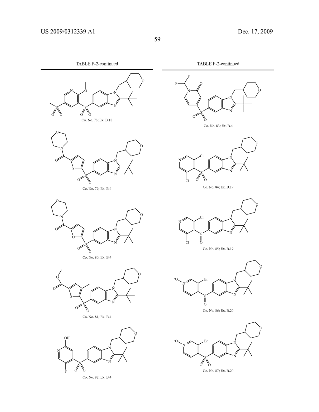 BENZIMIDAZOLE CANNABINOID AGONISTS BEARING A SUBSTITUTED HETEROCYCLIC GROUP - diagram, schematic, and image 60