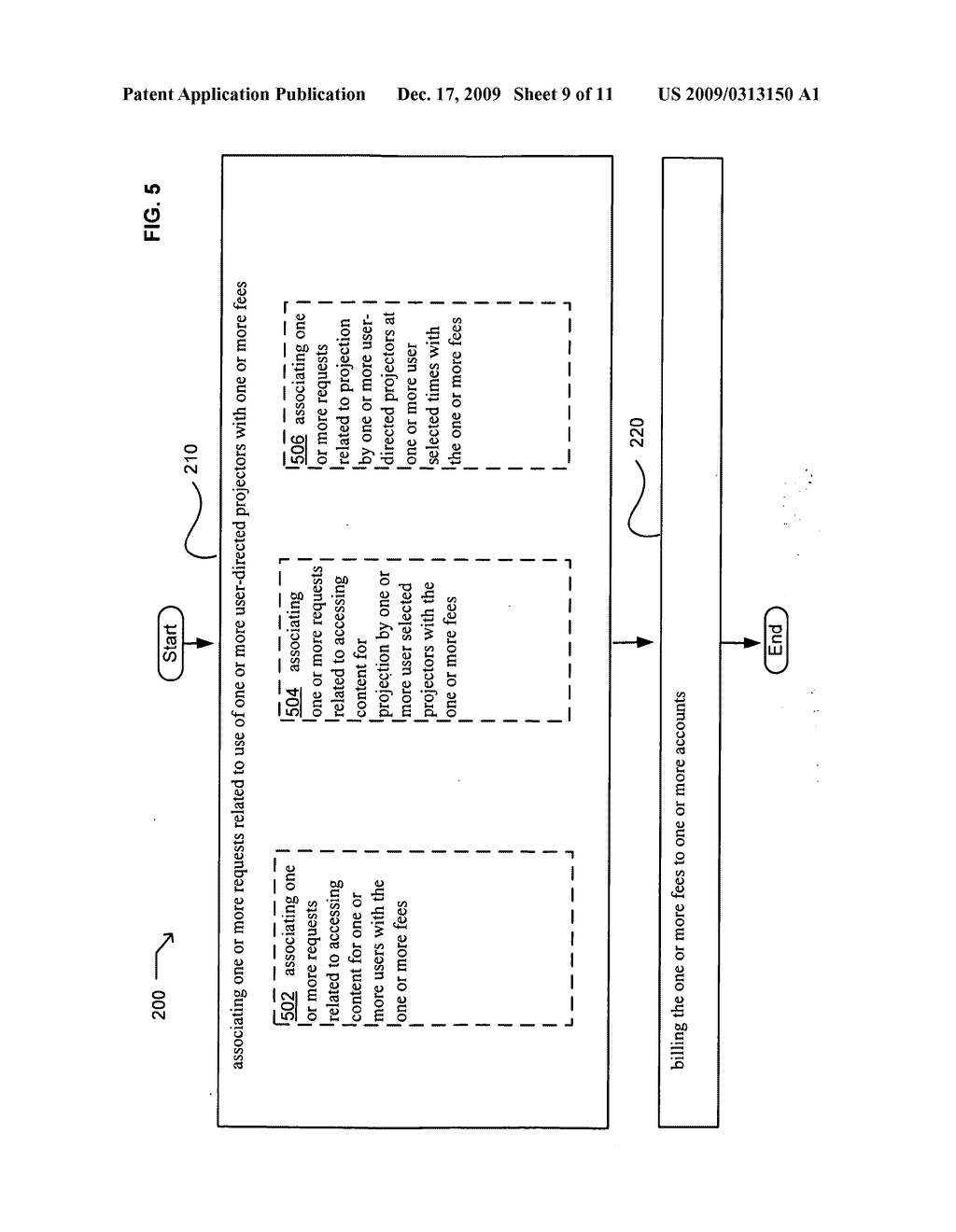 Methods associated with projection billing - diagram, schematic, and image 10