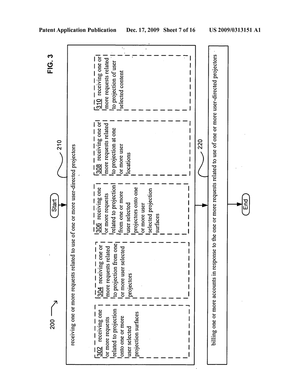 Methods associated with projection system billing - diagram, schematic, and image 08