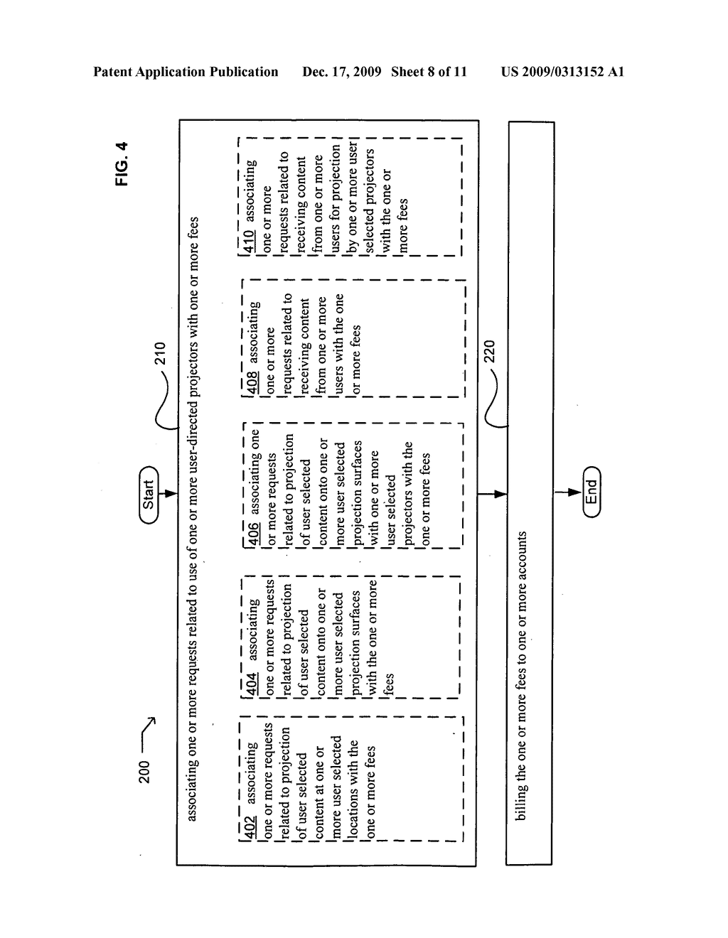 Systems associated with projection billing - diagram, schematic, and image 09
