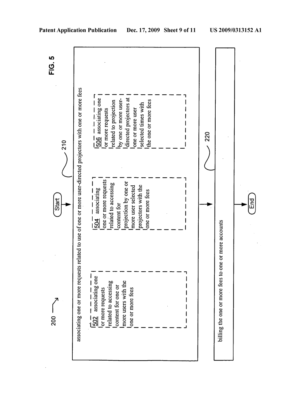 Systems associated with projection billing - diagram, schematic, and image 10