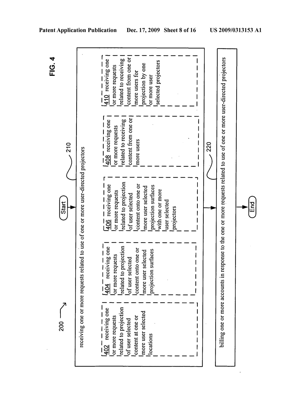 Systems associated with projection system billing - diagram, schematic, and image 09