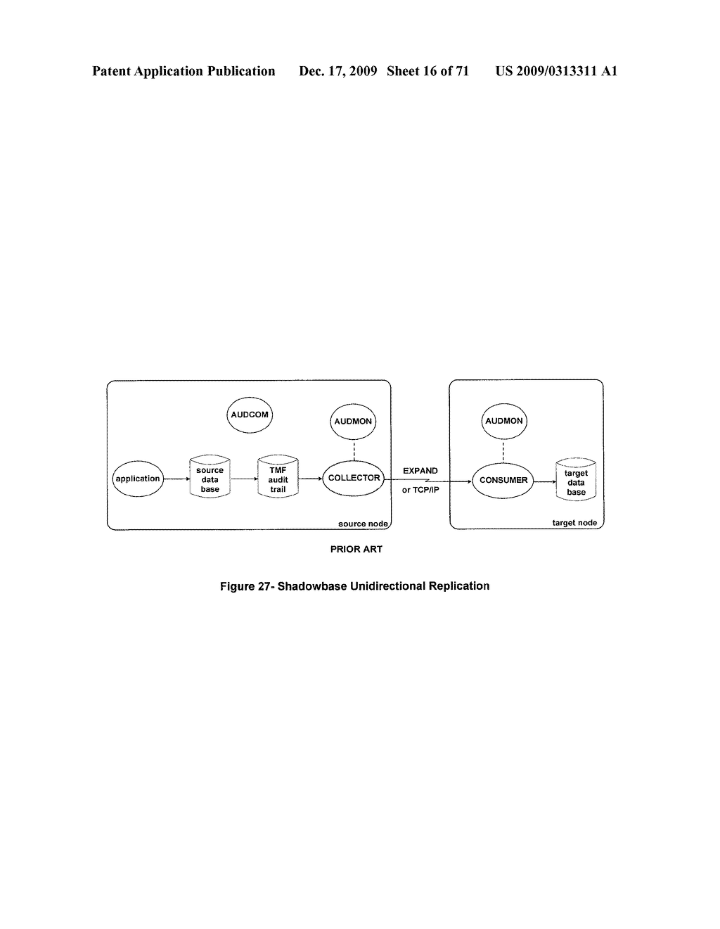 MIXED MODE SYNCHRONOUS AND ASYNCHRONOUS REPLICATION SYSTEM - diagram, schematic, and image 17