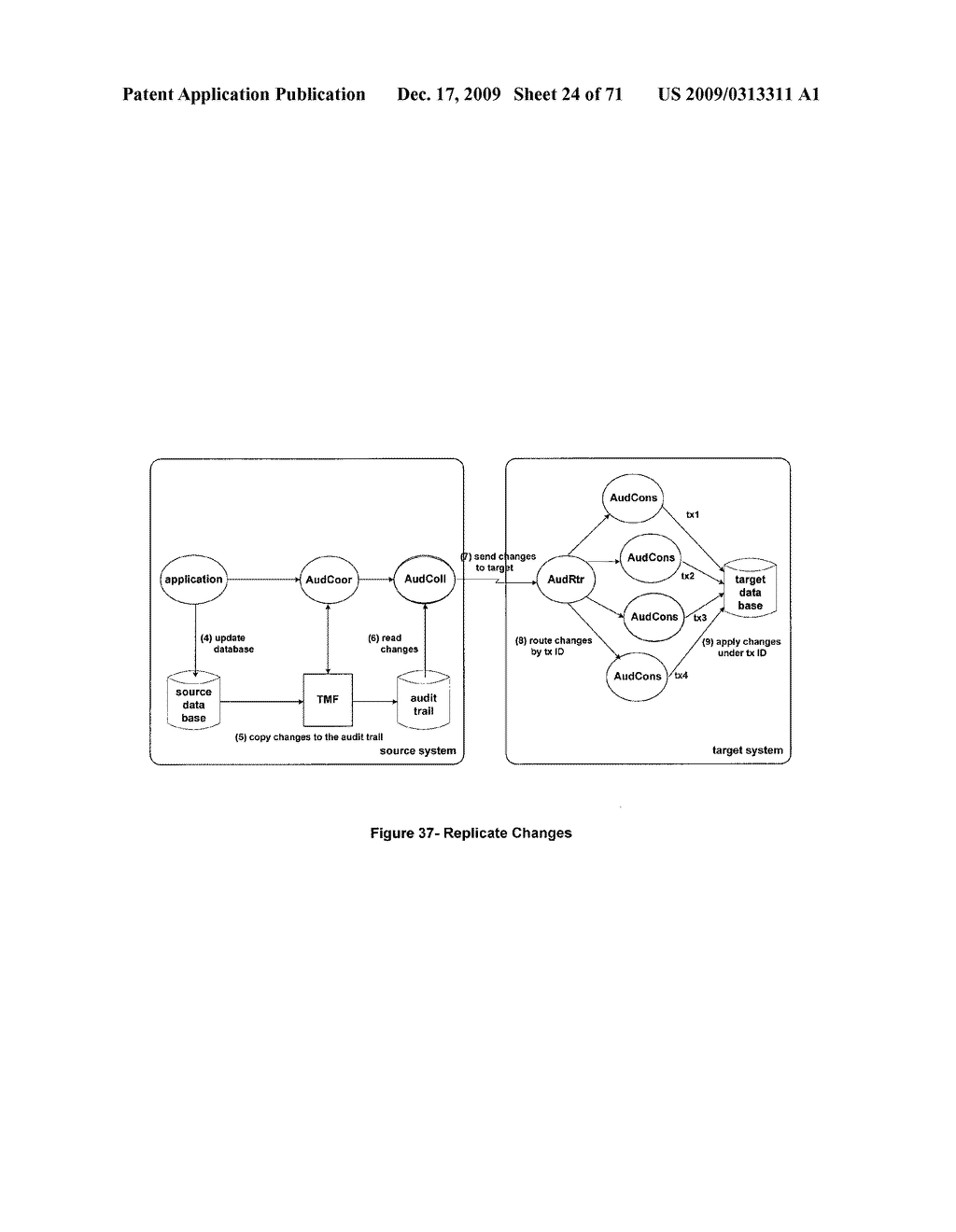 MIXED MODE SYNCHRONOUS AND ASYNCHRONOUS REPLICATION SYSTEM - diagram, schematic, and image 25