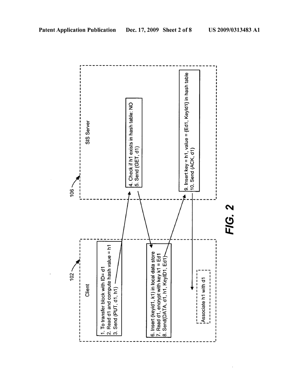 Single Instance Storage of Encrypted Data - diagram, schematic, and image 03