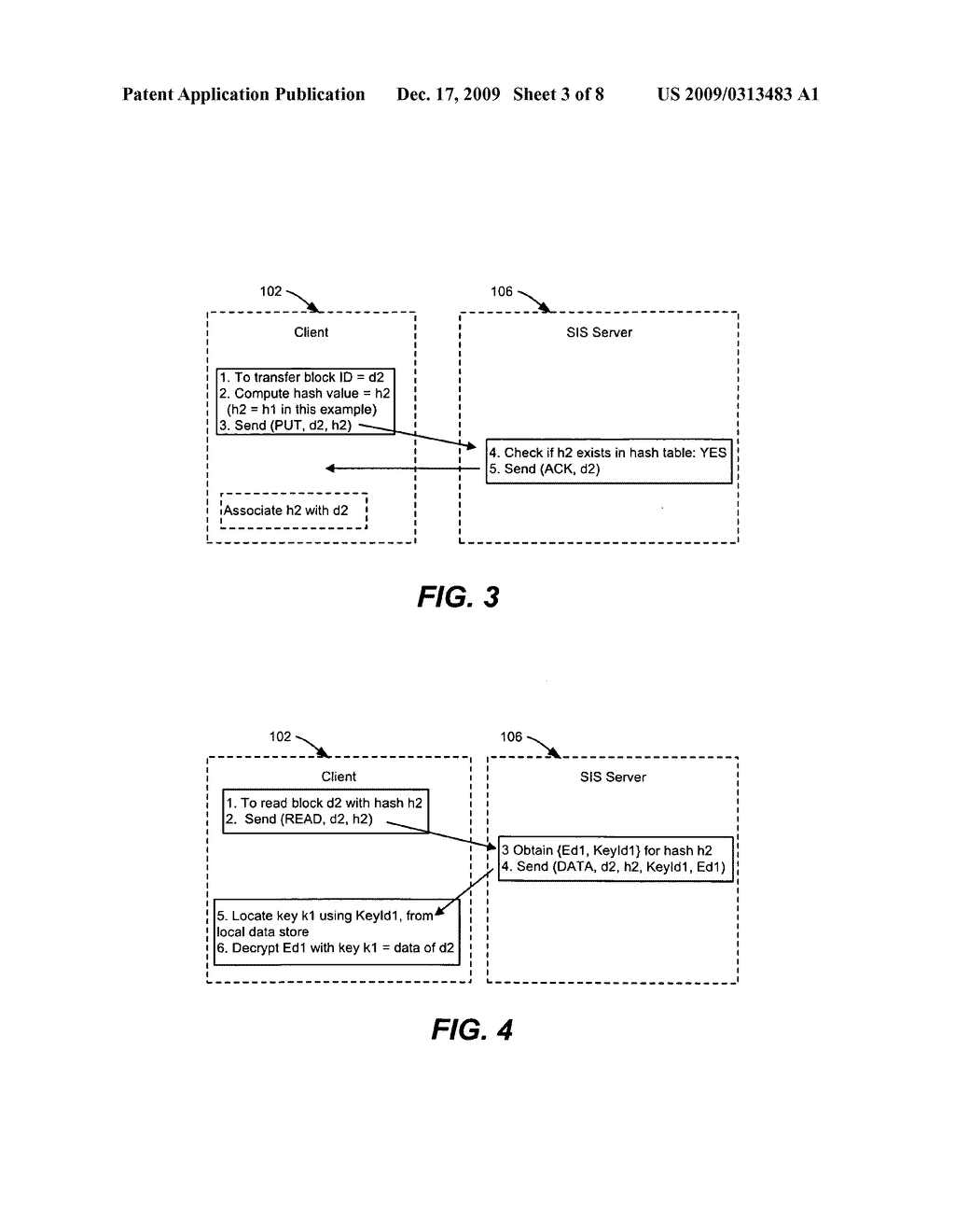 Single Instance Storage of Encrypted Data - diagram, schematic, and image 04