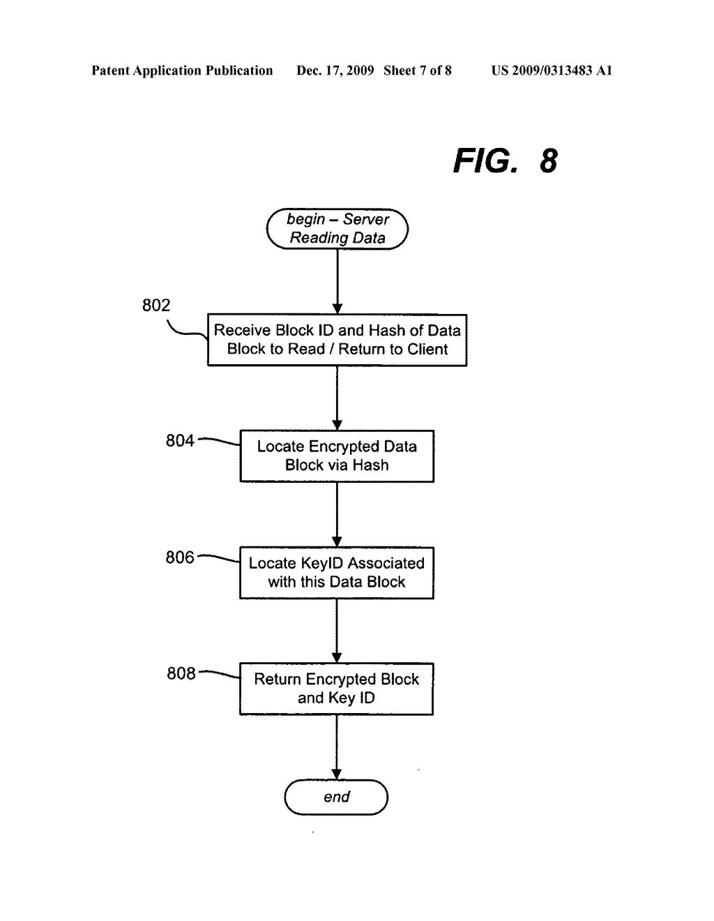 Single Instance Storage of Encrypted Data - diagram, schematic, and image 08