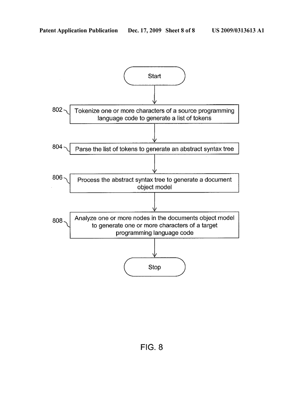 Methods and Apparatus for Automatic Translation of a Computer Program Language Code - diagram, schematic, and image 09