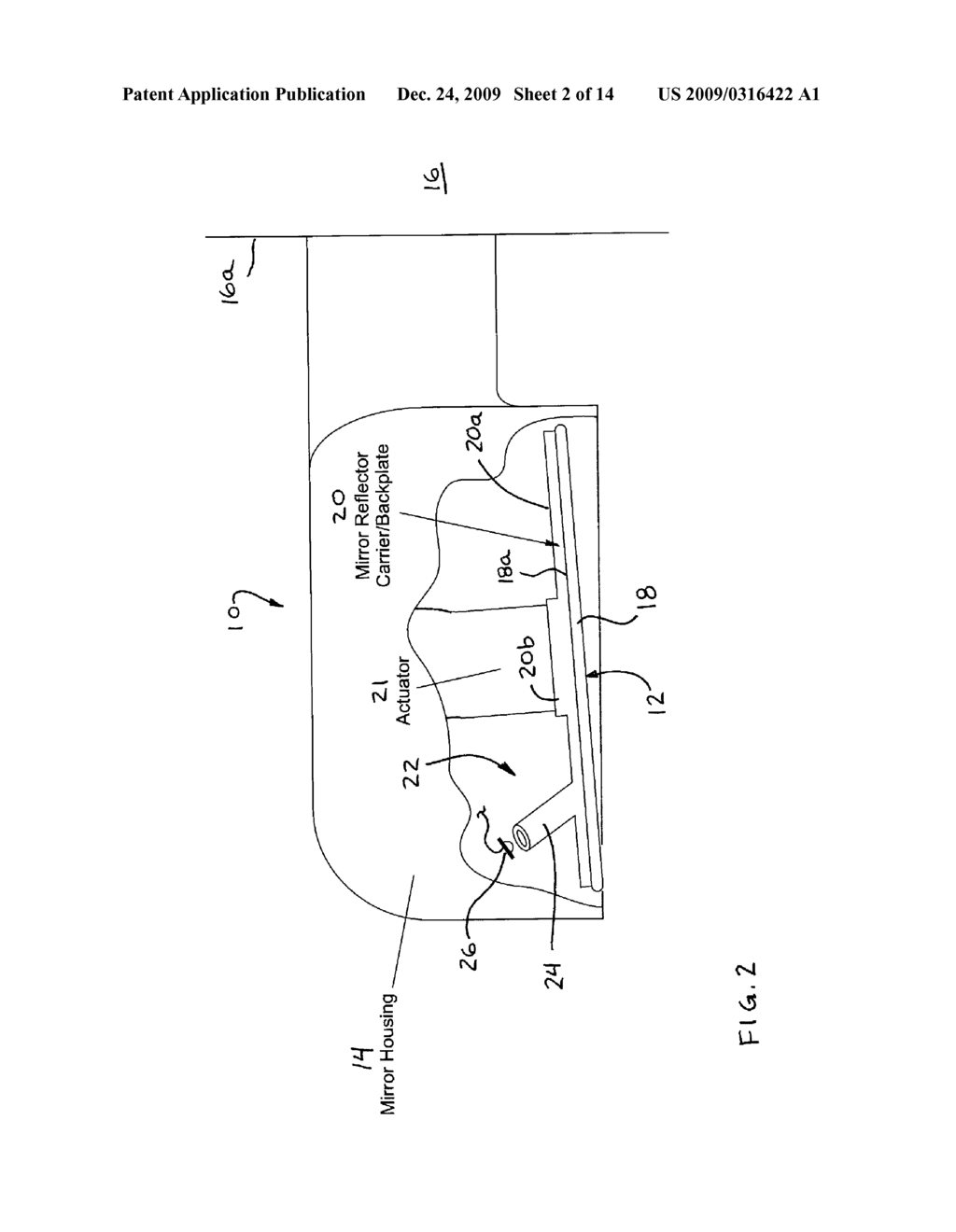 DISPLAY DEVICE FOR EXTERIOR REARVIEW MIRROR - diagram, schematic, and image 03