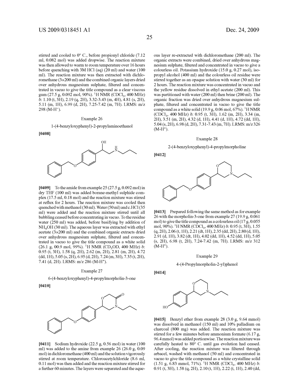 MORPHOLINE DOPAMINE AGONISTS FOR THE TREATMENT OF PAIN - diagram, schematic, and image 26