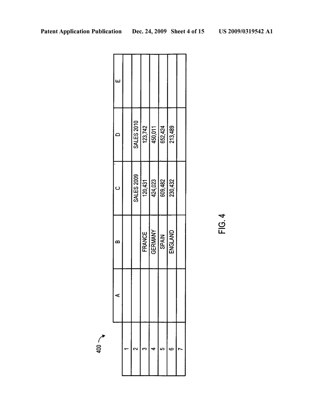 SYSTEMS AND METHODS TO AUTOMATICALLY REPLACE CONTENT IN A RANGE OF SPREADSHEET CELLS WITH INFORMATION FROM A DATABASE - diagram, schematic, and image 05