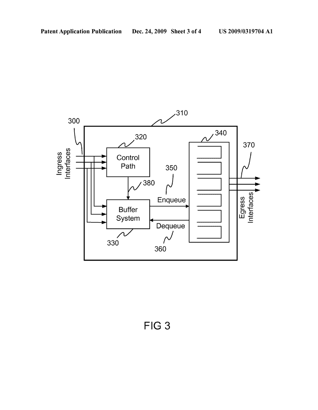 System and Method for Creating a Scalable Monolithic Packet Processing Engine - diagram, schematic, and image 04