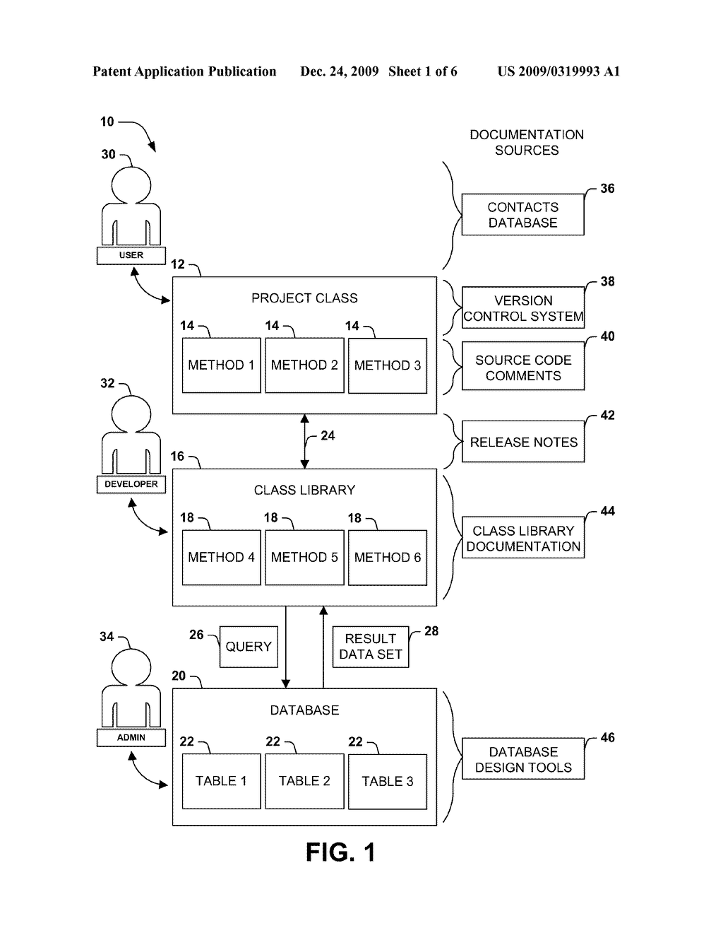 GENERALIZED AND EXTENSIBLE SOFTWARE ARCHITECTURE REPRESENTATION - diagram, schematic, and image 02