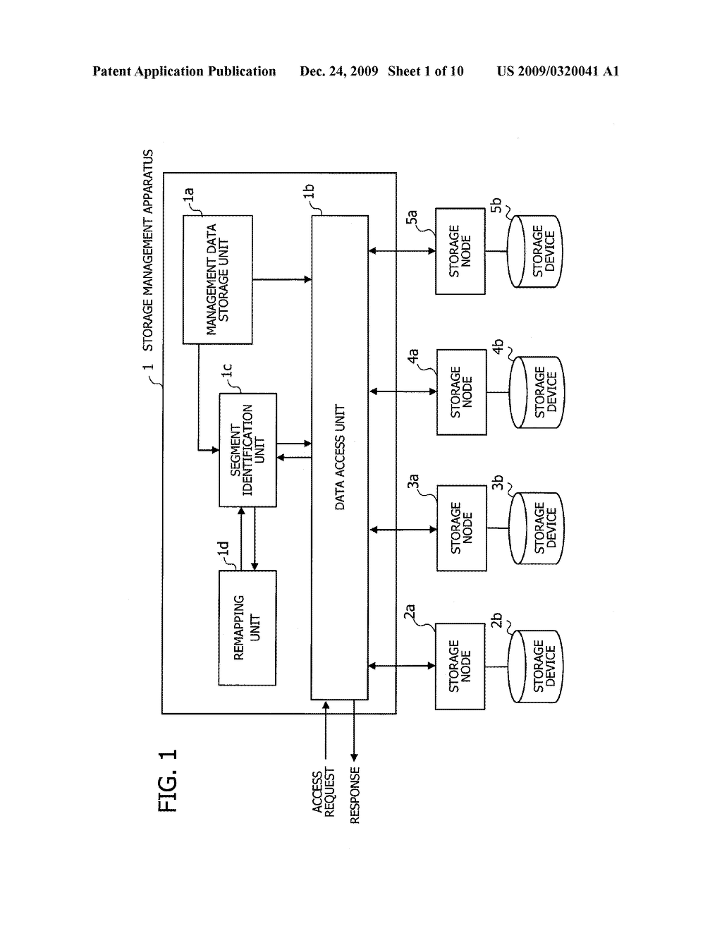 COMPUTER PROGRAM AND METHOD FOR BALANCING PROCESSING LOAD IN STORAGE SYSTEM, AND APPARATUS FOR MANAGING STORAGE DEVICES - diagram, schematic, and image 02