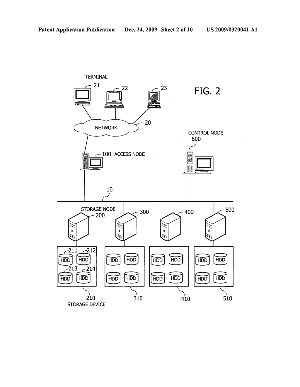 COMPUTER PROGRAM AND METHOD FOR BALANCING PROCESSING LOAD IN STORAGE SYSTEM, AND APPARATUS FOR MANAGING STORAGE DEVICES - diagram, schematic, and image 03