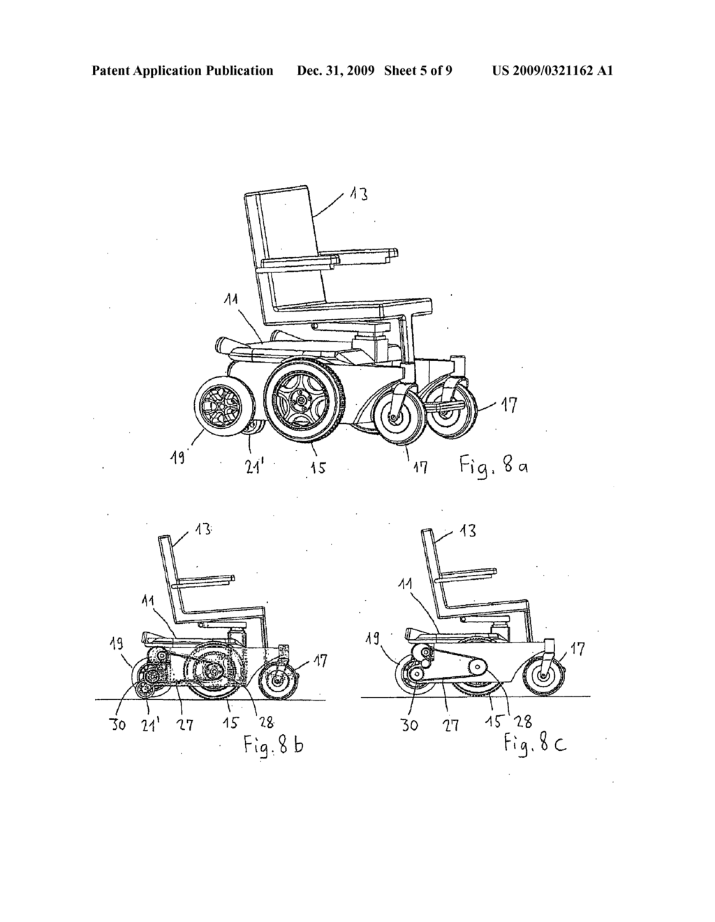 WHEELCHAIR WITH MIDDLE WHEEL DRIVE - diagram, schematic, and image 06