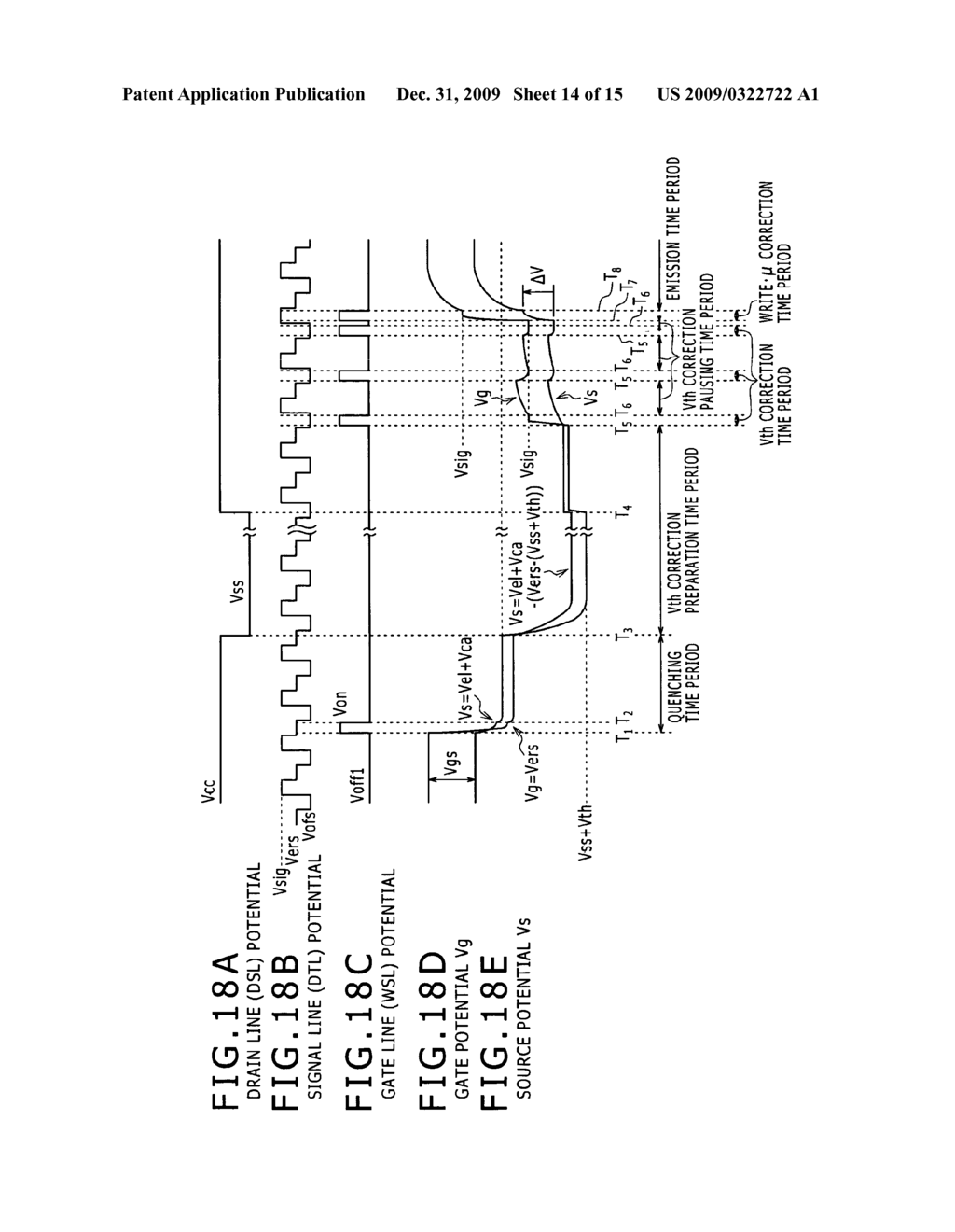 Display device, a method of driving the same, and electronic apparatus including the same - diagram, schematic, and image 15
