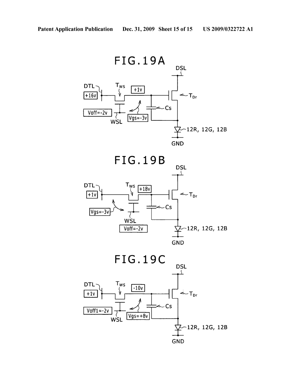 Display device, a method of driving the same, and electronic apparatus including the same - diagram, schematic, and image 16