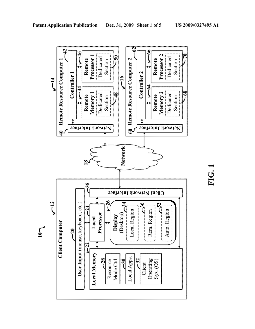 COMPUTING WITH LOCAL AND REMOTE RESOURCES USING AUTOMATED OPTIMIZATION - diagram, schematic, and image 02