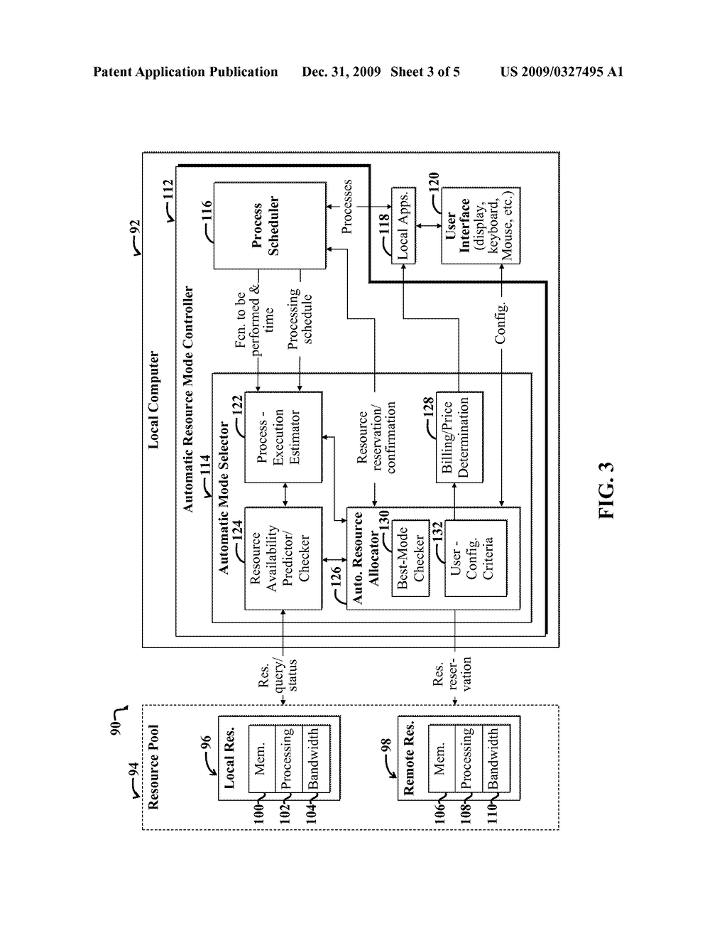COMPUTING WITH LOCAL AND REMOTE RESOURCES USING AUTOMATED OPTIMIZATION - diagram, schematic, and image 04